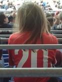 VfB-Anhängerin